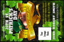 St. Patrick's Day Party Economy Event Badge