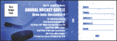 Hockey Raffle Ticket
