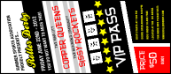 Roller Derby Passing Star VIP Pass