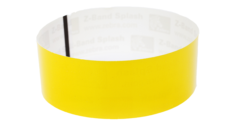 VinylTough Wristbands-Yellow (100 Pack)